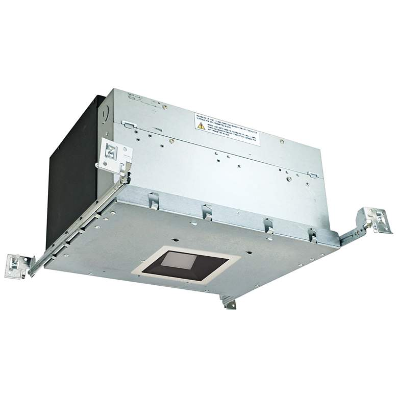 "Iolite 4"" Black-White 1-Head 1000lm LED Wall Wash Recess Kit"