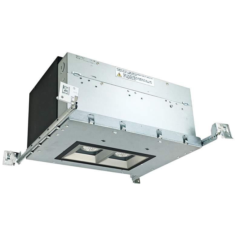 "Iolite 4"" Haze-Black 2-Head 800 Lumen LED Fixed"
