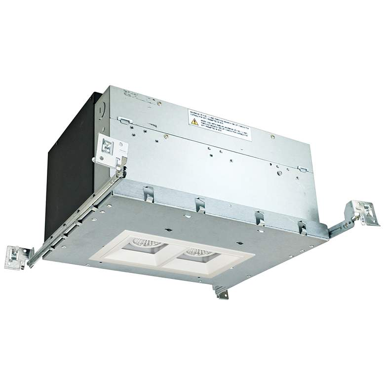 "Iolite 4"" White 2-Head 1000 Lumen LED Fixed"