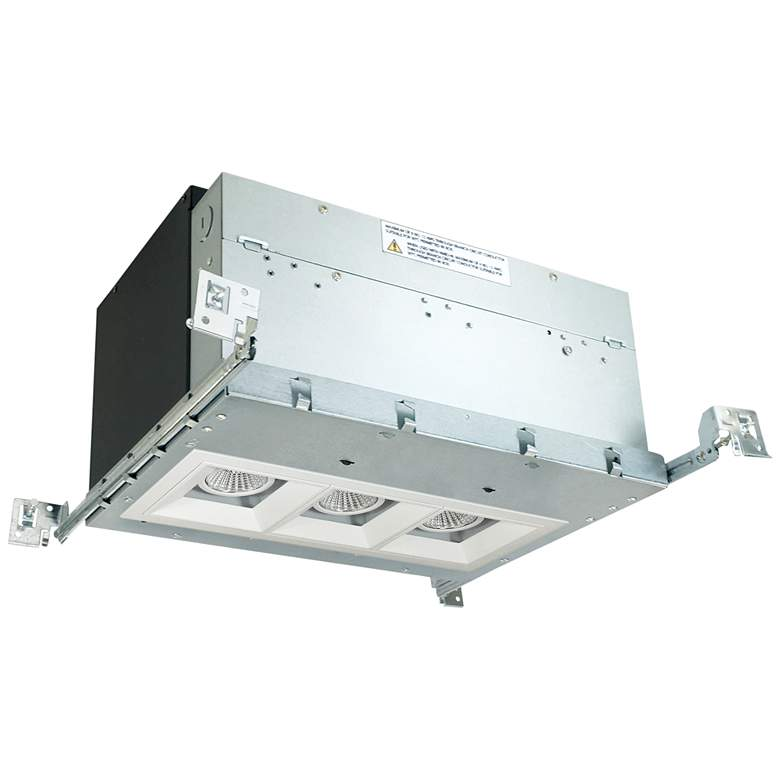 "Iolite 4"" White 3-Head 1000 Lumen LED Fixed"