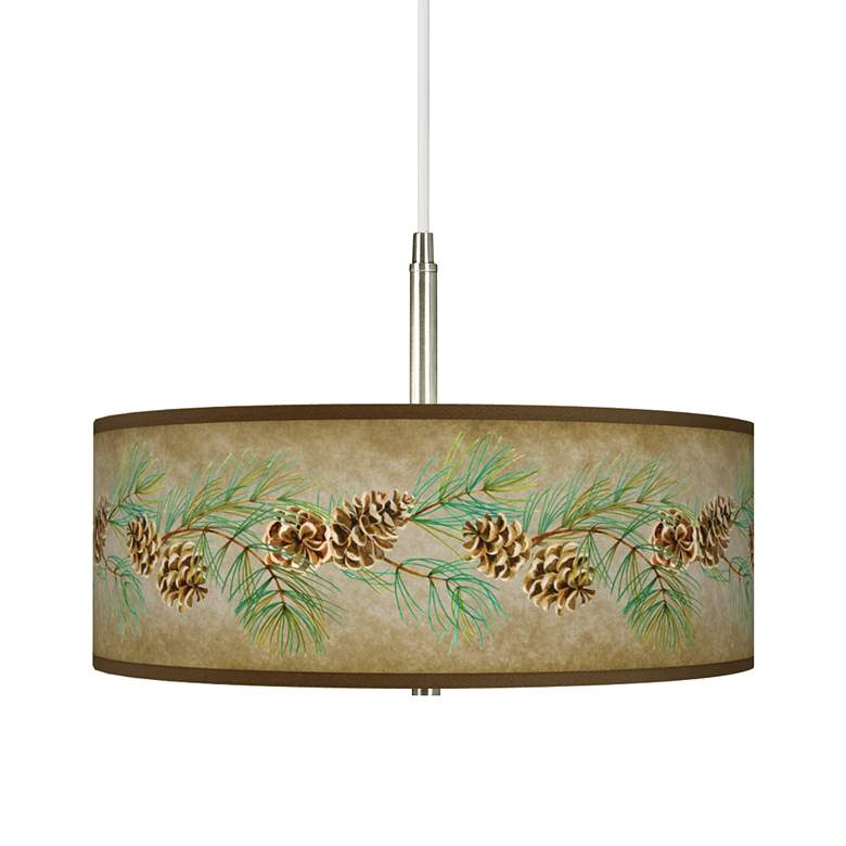 Cone Branch Giclee Pendant Chandelier
