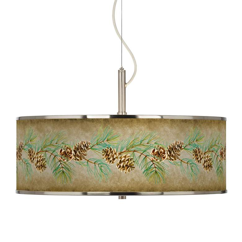 "Cone Branch Giclee Glow 20"" Wide Pendant Light"