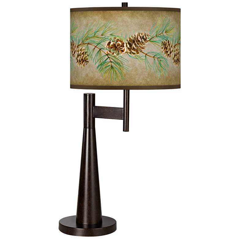 Cone Branch Giclee Novo Table Lamp