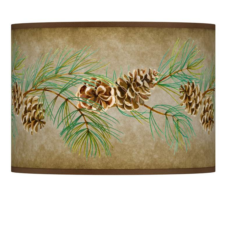 Cone Branch Giclee Lamp Shade 13.5x13.5x10 (Spider)