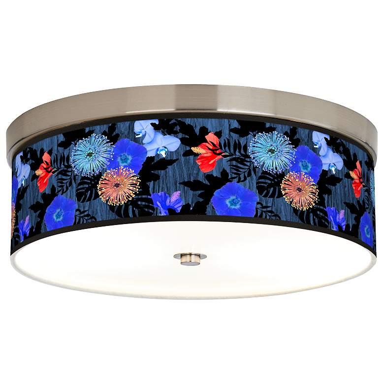 Midnight Garden Giclee Energy Efficient Ceiling Light