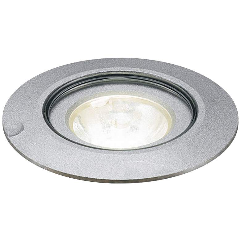 "Bruck 2 1/4"" Wide Matte Chrome In-Ground LED"