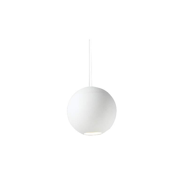 "ET2 Micro 2"" Wide White Orb LED Mini Pendant Light"