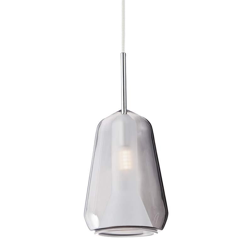 """ET2 Deuce 5 1/2"""" Wide Smoke Glass LED Mini Pendant Light"""