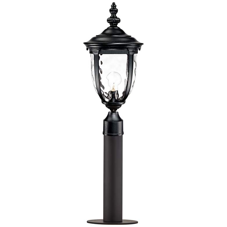 """Bellagio 33"""" High Black Path Light with Low Voltage Bulb"""