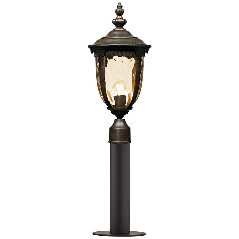 """Bellagio 33"""" High Bronze Path Light with Low Voltage Bulb"""