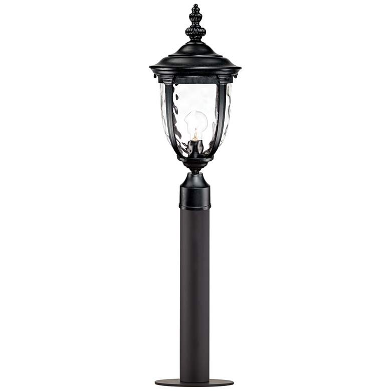 "Bellagio 37"" High Black Path Light with Low Voltage Bulb"