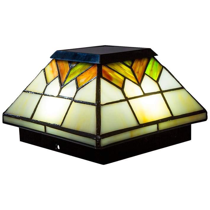 Outdoor Led Solar Post Cap