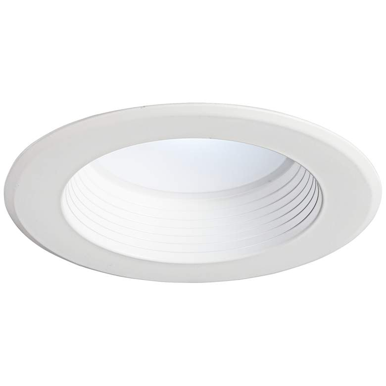 "5""/6"" White 15 Watt Dimmable LED Retrofit Trim"