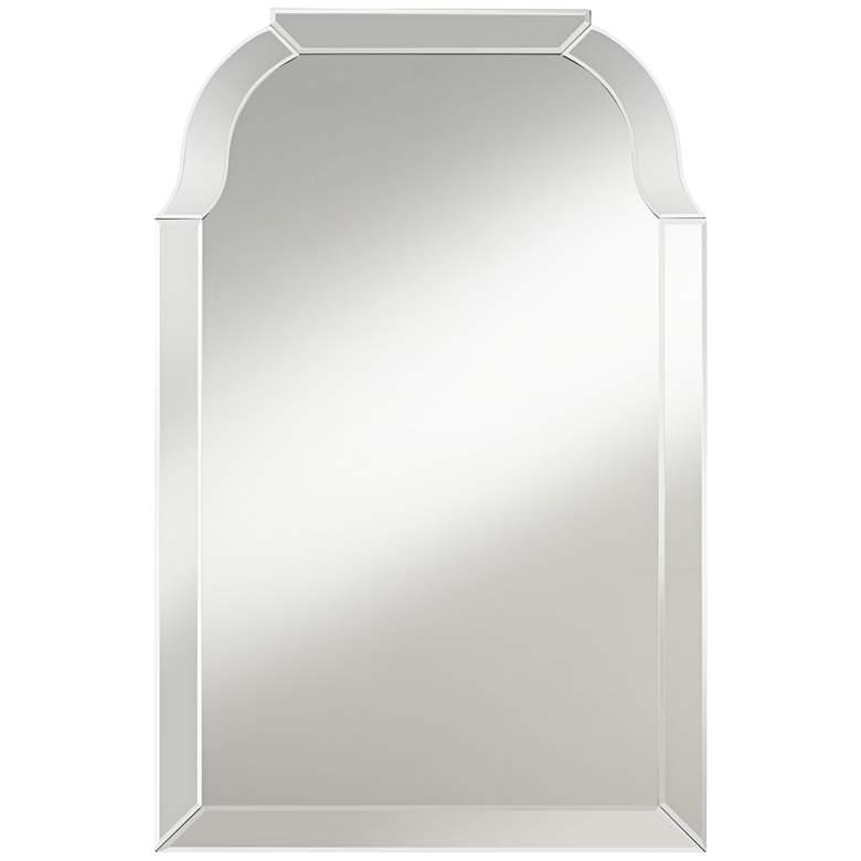 "Possini Euro Mayden 23 1/2"" x 36"" Arch Top Wall Mirror"