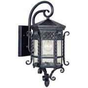 """Maxim Scottsdale 21"""" High Country Forge Outdoor Wall Light"""