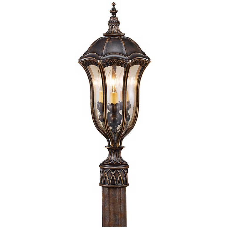 "Feiss Baton Rouge 22"" High Outdoor Post Lantern"
