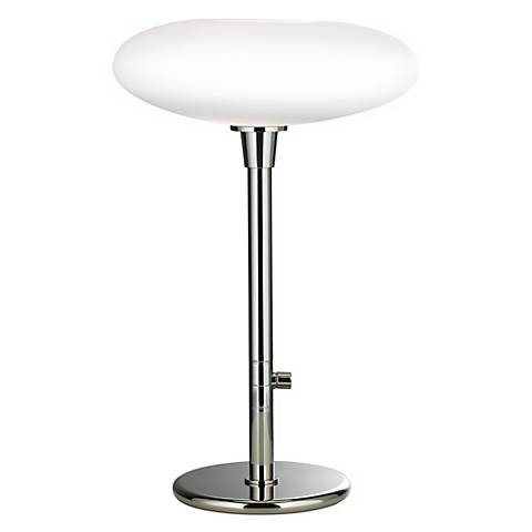 Robert Abbey Ovo Chrome Base Table Lamp