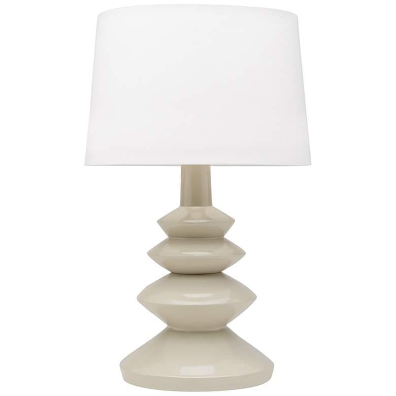 Mitzi Erin Feather Gray Ceramic Table Lamp