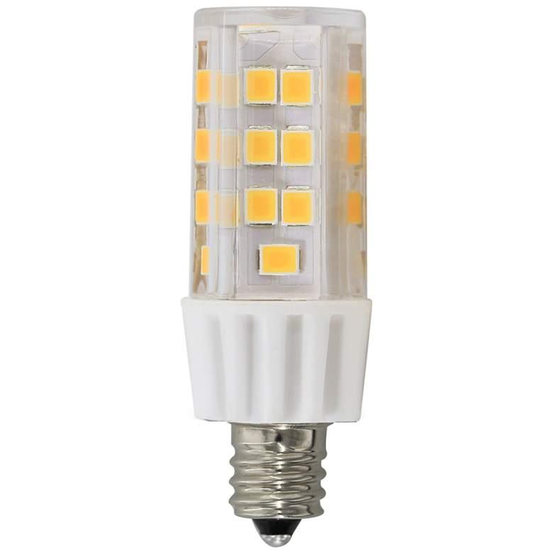 60 Watt Replacement Clear 5 Watt LED E11 Minican Bulb