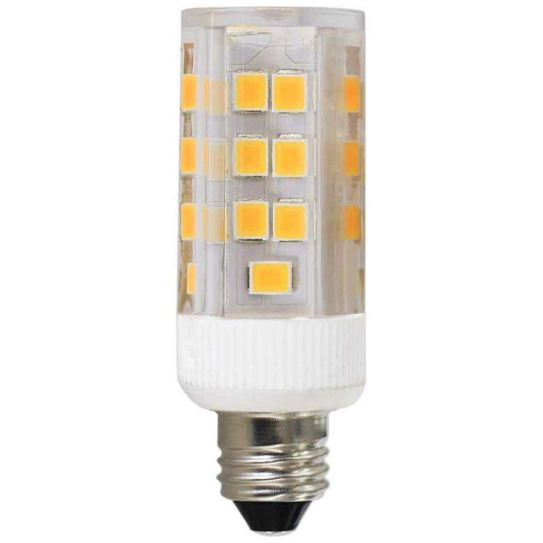 40W Equivalent Clear 4W LED Dimmable Mini Candelabra