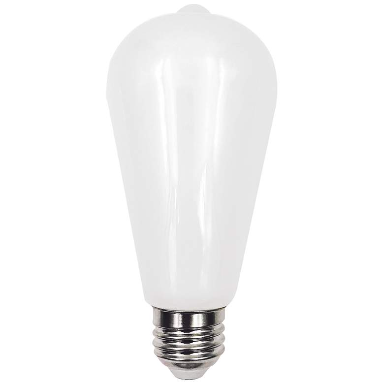 100W Equivalent Milky 12W LED Dimmable Edison ST21