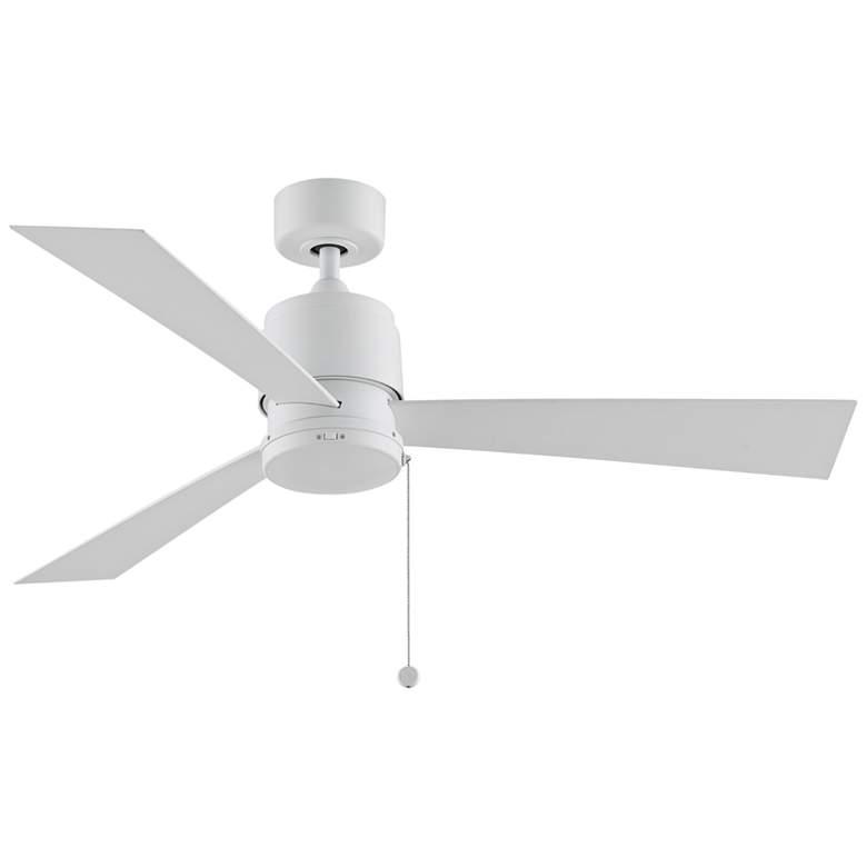 """52"""" Fanimation Zonix Wet Matte White Outdoor Ceiling Fan"""