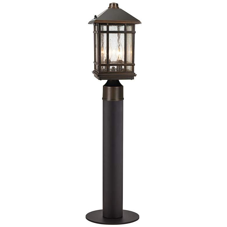 "J du J Sierra Craftsman 30"" Path Light with Low Voltage Bulb"