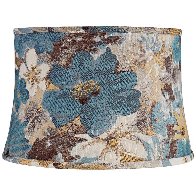 Notre Dame Fabric Drum Lamp Shade 14x16x11 (Spider)