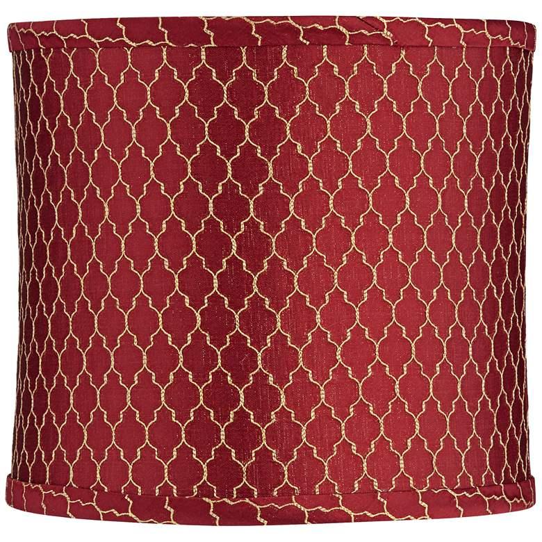 Oban Wine Drum Lamp Shade 10.5x10.5x9.5 (Spider)