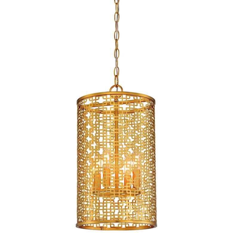 "Blairmoor 11 1/4"" Wide Honey Gold Foyer Mini Pendant Light"