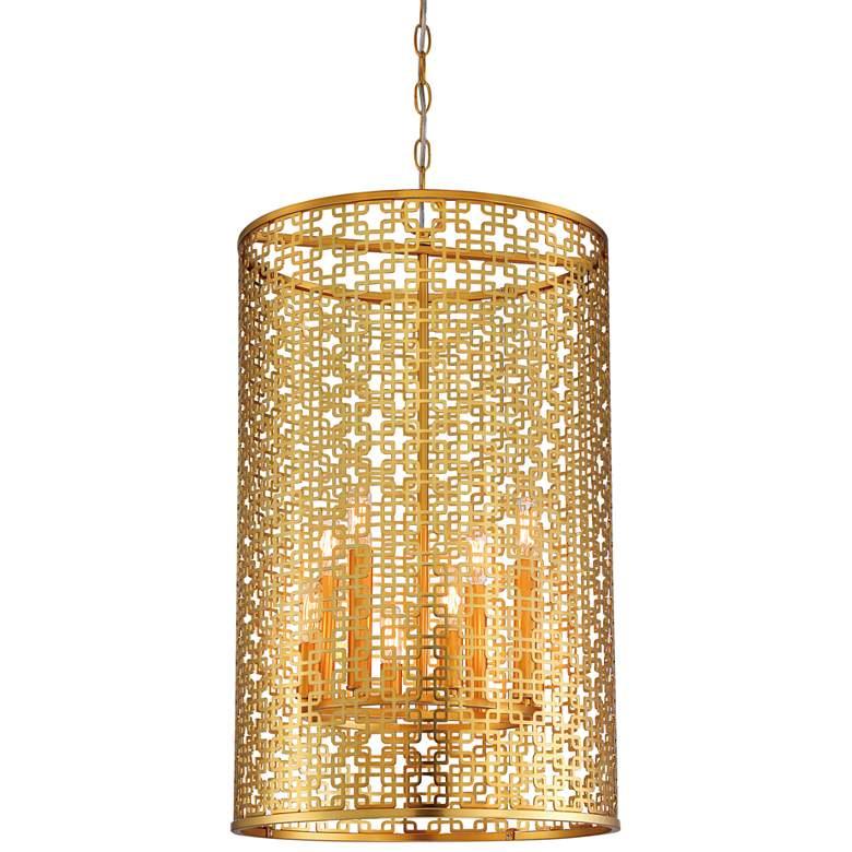 "Blairmoor 16 1/2"" Wide Honey Gold Foyer Pendant Light"