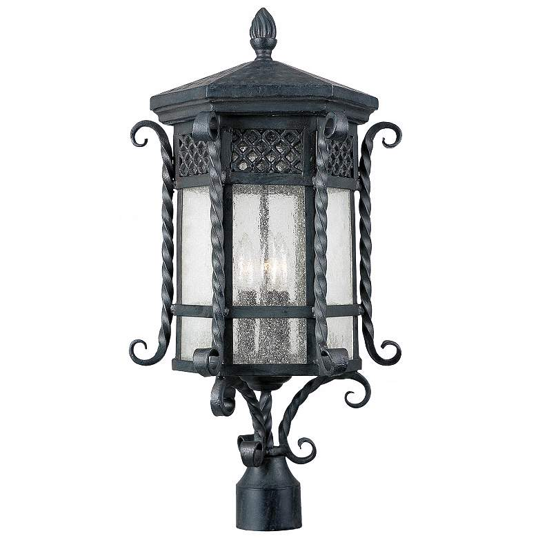 """Scottsdale Collection 25 1/2"""" High Outdoor Post Mount"""