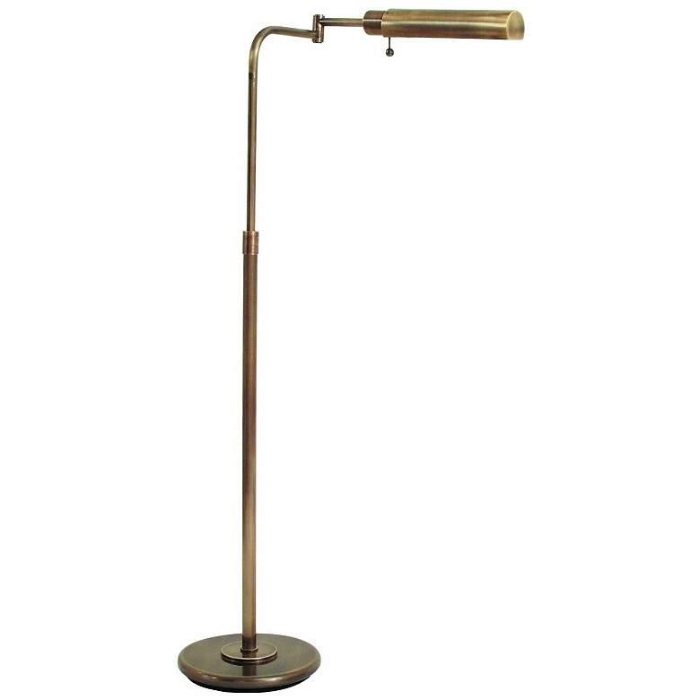 House of Troy Antique Brass Swingarm Pharmacy Floor Lamp
