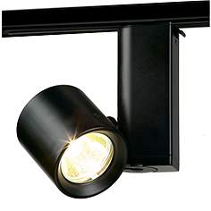 Lightolier track recessed lighting lamps plus lightolier miniforms mr16 low voltage track light in black mozeypictures Image collections