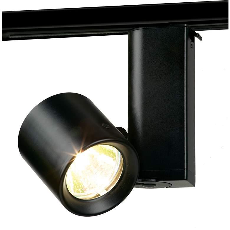 Lightolier Miniforms Mr16 Low Voltage Track Light In Black