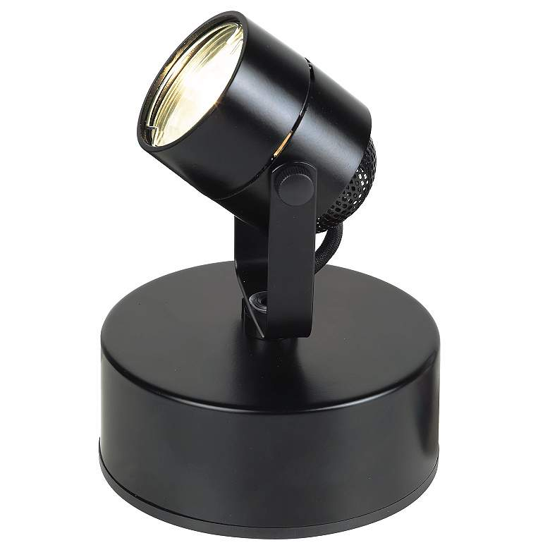 LED Mini Accent Uplight in Black