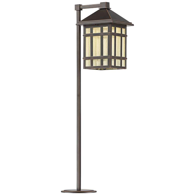 "Jardin du Jour 26 1/2"" High Bronze LED Landscape Path Light"
