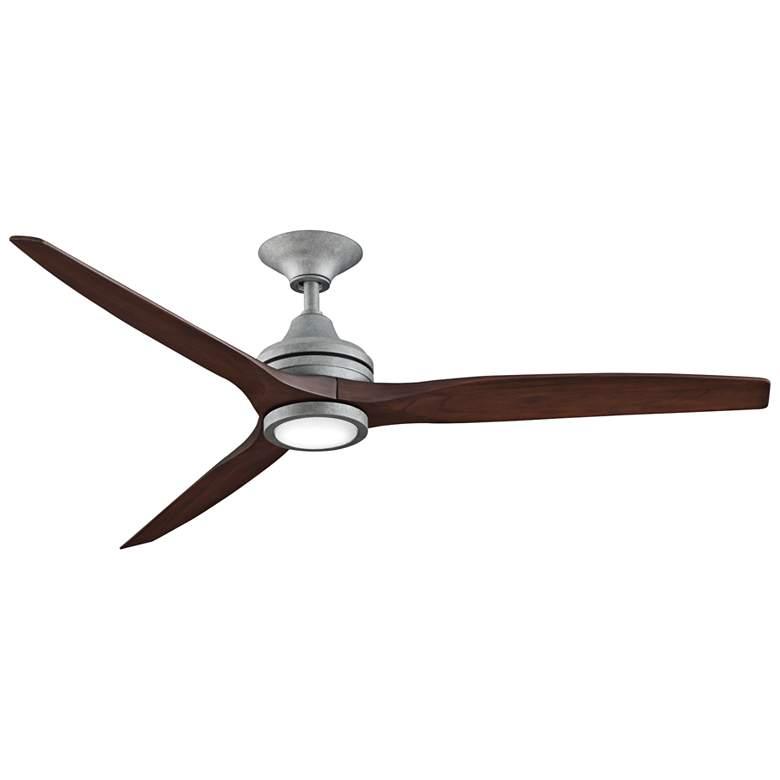 "60"" Fanimation Spitfire Galvanized LED Ceiling Fan"