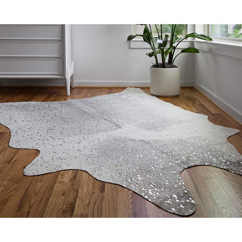 Loloi Bryce BZ-02 Gray and Silver Area Rug