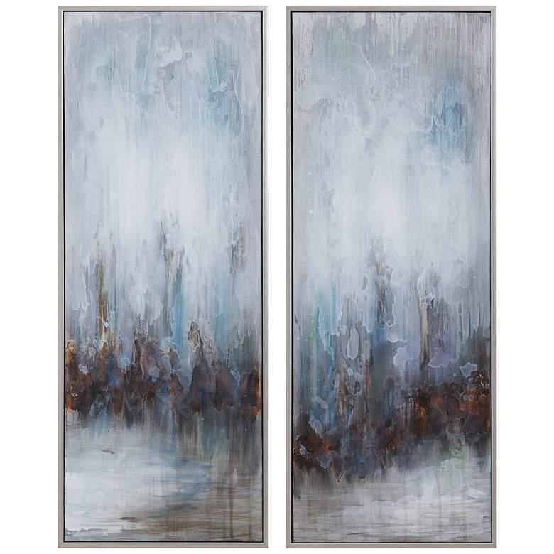 "Uttermost Rainy Days 32 3/4""H 2-Piece Canvas Wall Art Set"