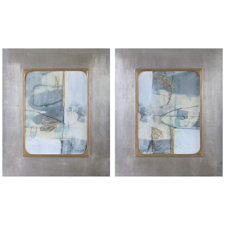 "Uttermost Gilded Whimsy 36 1/2""H 2-Piece Framed Wall Art Set"