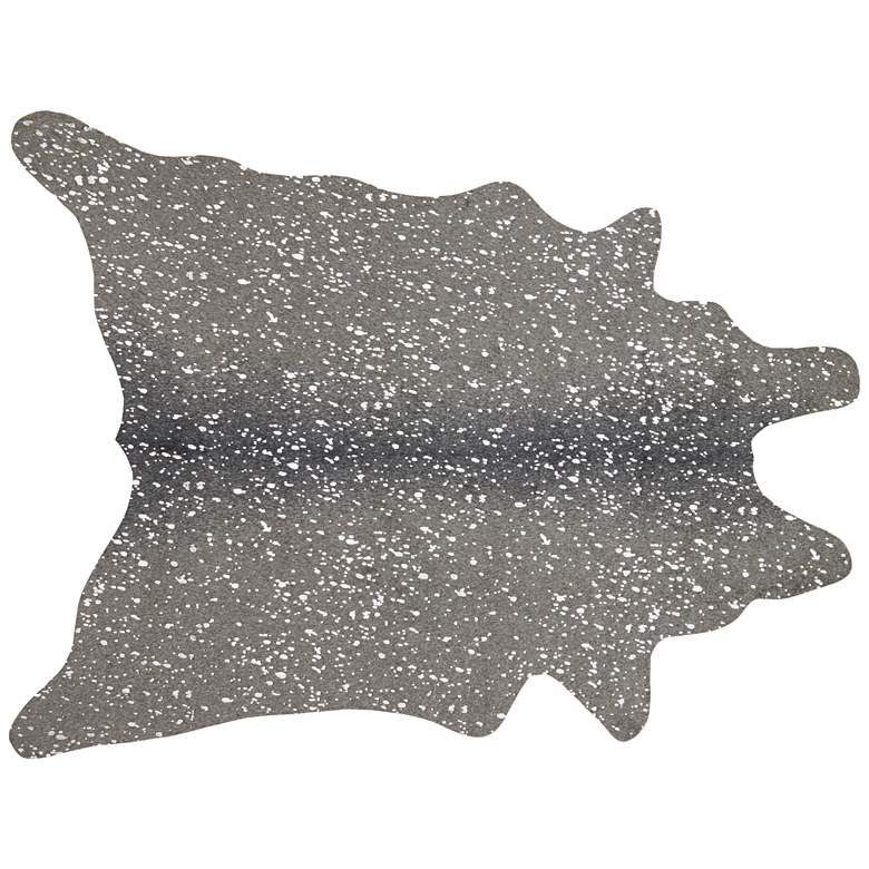 """Loloi II Bryce BZ-03 5'x6'6"""" Graphite and Silver Area Rug"""