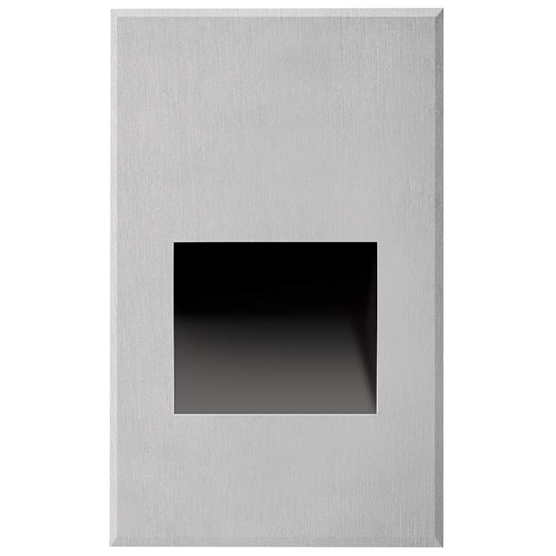 "Sonic 3"" Wide Brushed Nickel LED Outdoor Recessed"