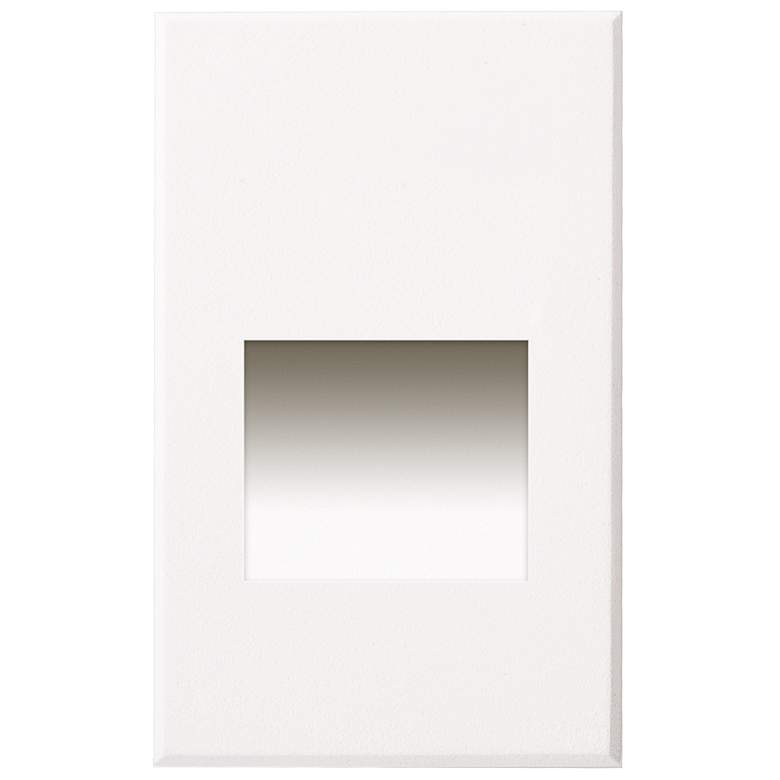 """Sonic 3"""" Wide White LED Outdoor Recessed Step Light"""