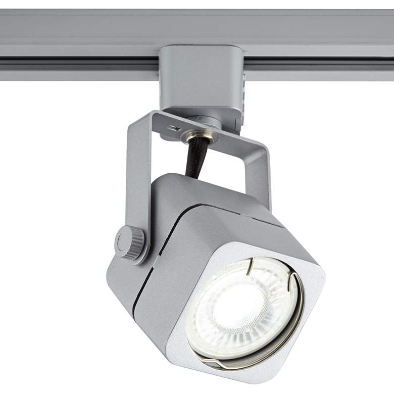 Brushed Nickel Square 6.5W LED Bullet Head for Juno System