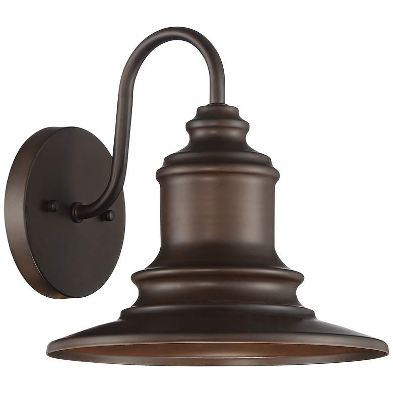 "Possini Euro Elgin 9 1/2""H Bronze Outdoor Wall Light"