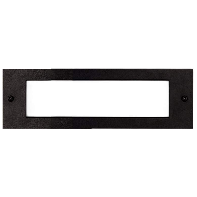 "Bristol 9 3/4"" Wide Black LED Outdoor Recessed"