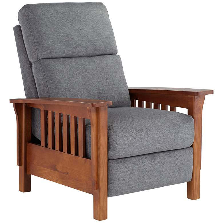 Evan Monica Graphite 3-Way Recliner Chair
