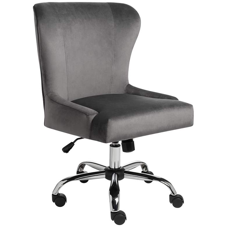Erin Gray Fabric Adjustable Office Chair