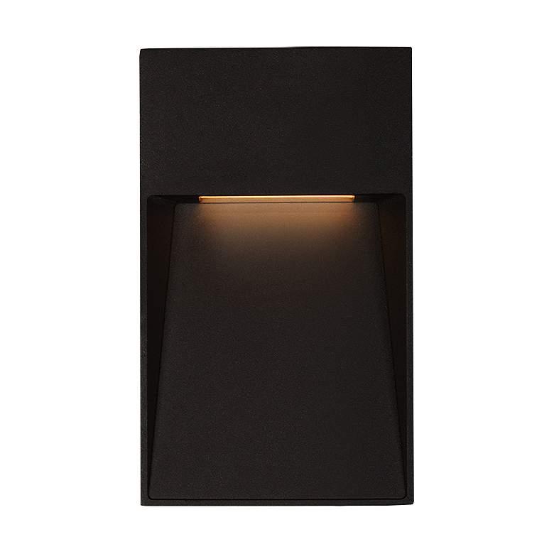 "Casa 2 3/4"" Wide Black Vertical LED Outdoor"